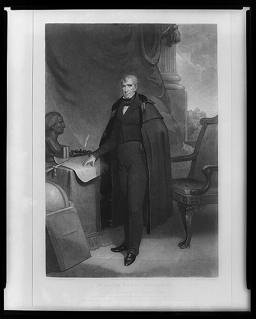 William Henry Harrison--Late President of the United States