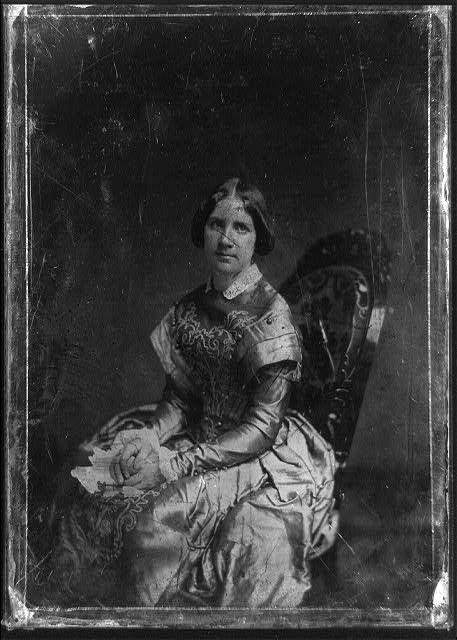 [Jenny Lind, three-quarter length portrait of a woman, three-quarters to the left, facing front, seated]