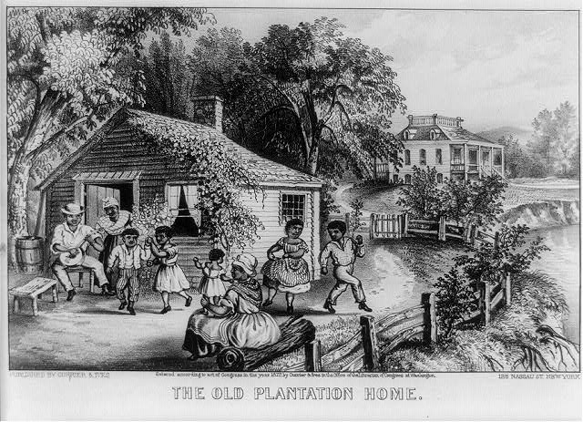 The old plantation home