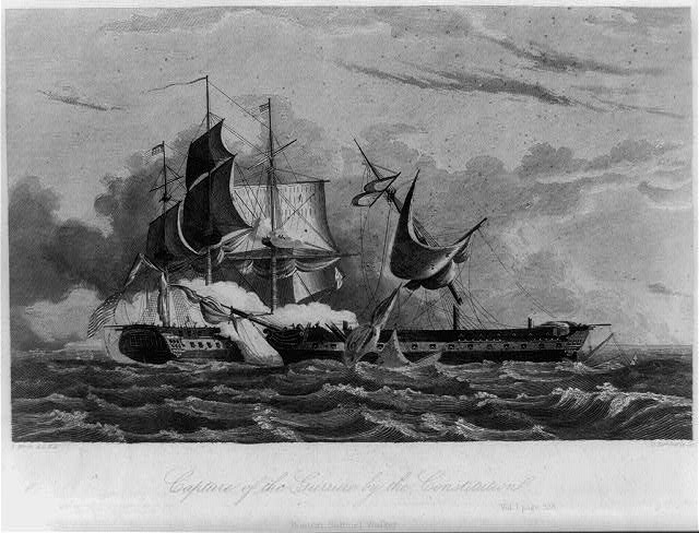 Capture of the Guerriere by the Constitution