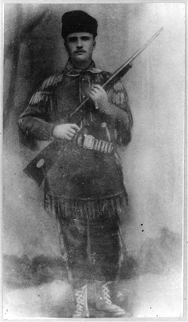 Theodore Roosevelt in his first buckskins