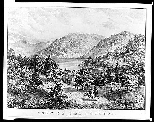 View on the Potomac--Near Harper's Ferry