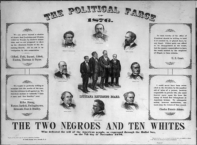 The political farce of 1876