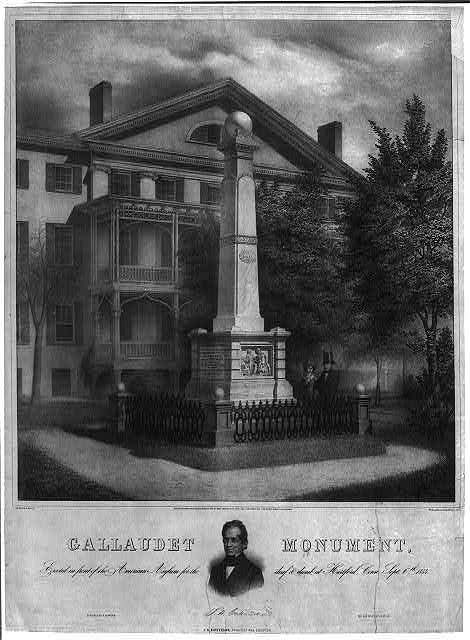 Gallaudet monument
