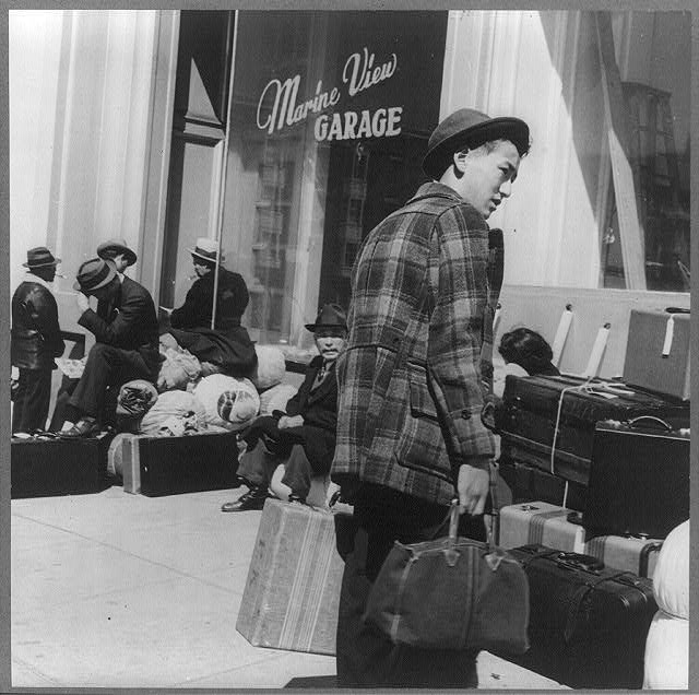 San Francisco, April 1942 - relocation story