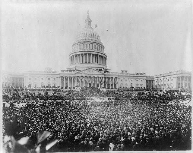 Wilson's inauguration, 1917