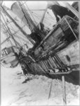 Shackleton's expedition to the Antarctic Endurance for two months before she sank in the Weddell Sea on Oct. 27, 1915.