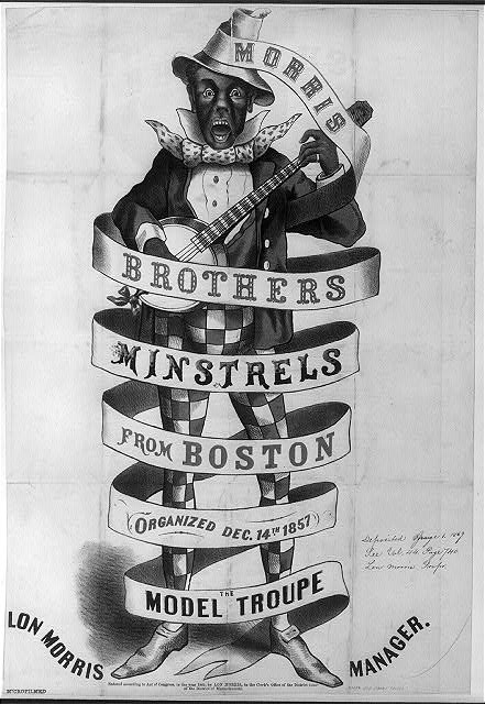 Morris Brothers minstrels from Boston, organized Dec. 14th, 1857--The model troupe