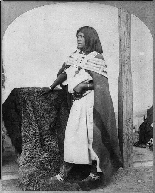 Pah-ge, a Ute Squaw, of the Kah-poh-teh band, northern New Mexico.