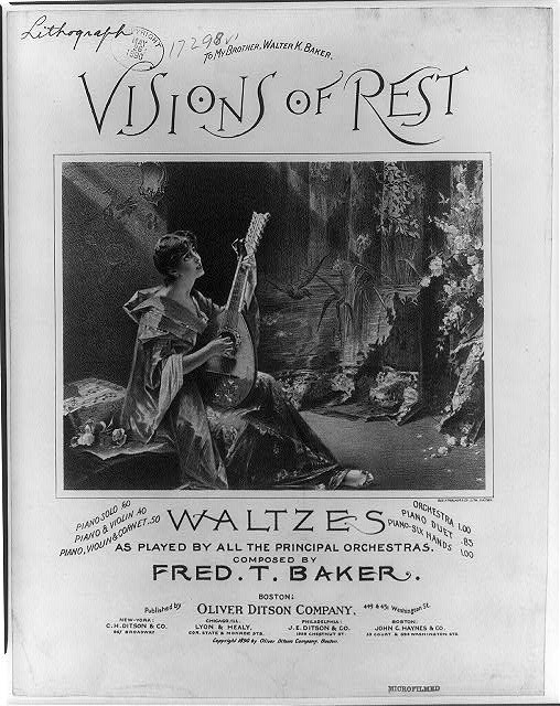 Visions of rest - Waltzes
