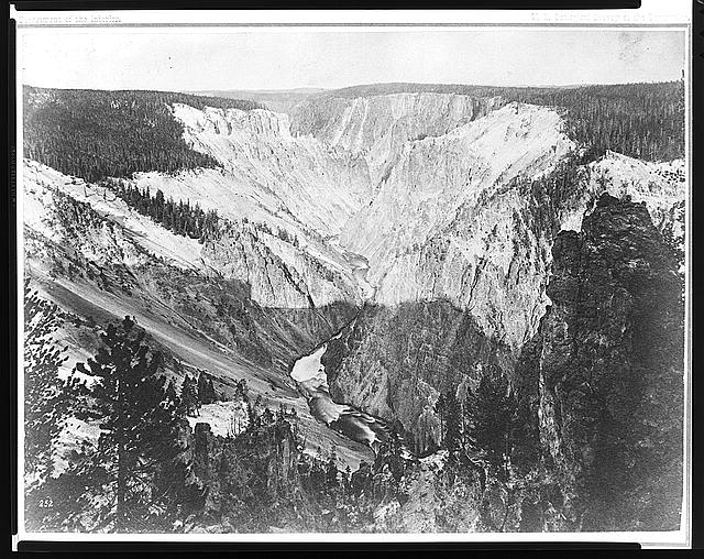 [Grand canyon of the Yellowstone River]