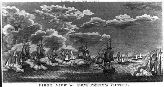 First view of Com. Perry's victory