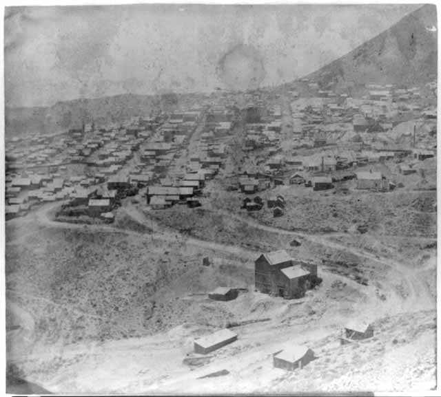 Virginia City, Nevada from Cedar Hill