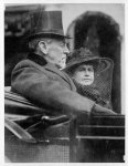 Edith Bolling Galt Wilson with Woodrow Wilson