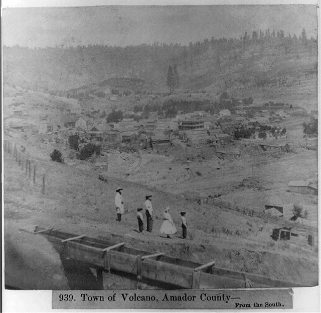 Town of Volcano, Amador County, Calif.