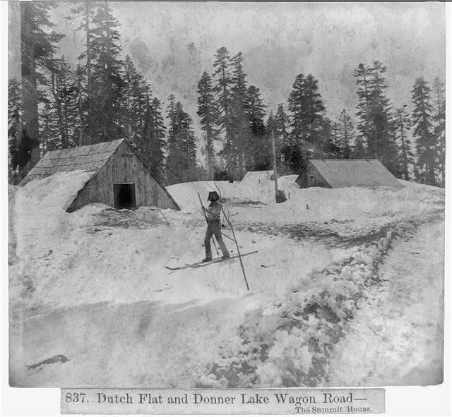 Dutch Flat and Donner Lake Wagon Road - the Summit House