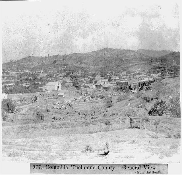 Columbia Tuolumne County - General view from the South