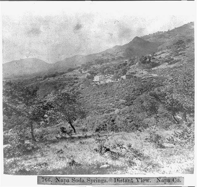 Napa Soda Springs - Distant View - Napa County