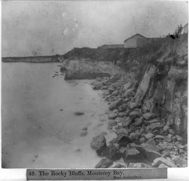 The Rocky Bluffs, Monterey Bay, Near Santa Cruz