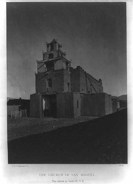 The Church of San Miguel, the oldest church in Santa Fe, N.M.