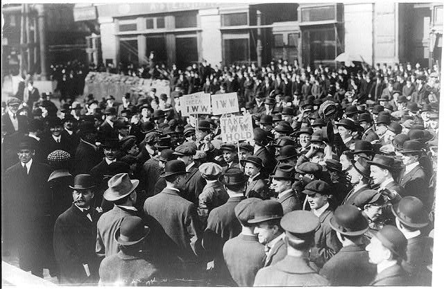 [Industrial Workers of the World (I.W.W.) demonstration, New York City]