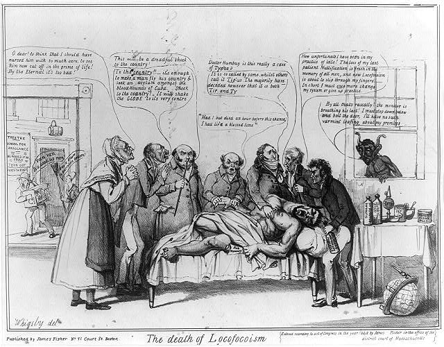 Political Cartoon 1840