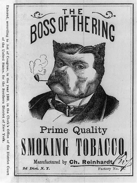The boss of the ring prime quality smoking tobacco