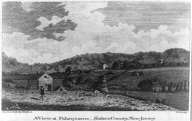 A view at Pahaquarric, Sussex County, New Jersey