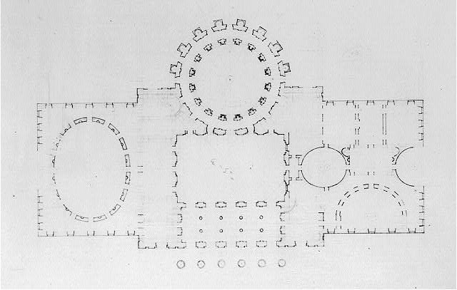 "[United States Capitol (""Federal Capitol""), Washington, D.C. Floor plan]"