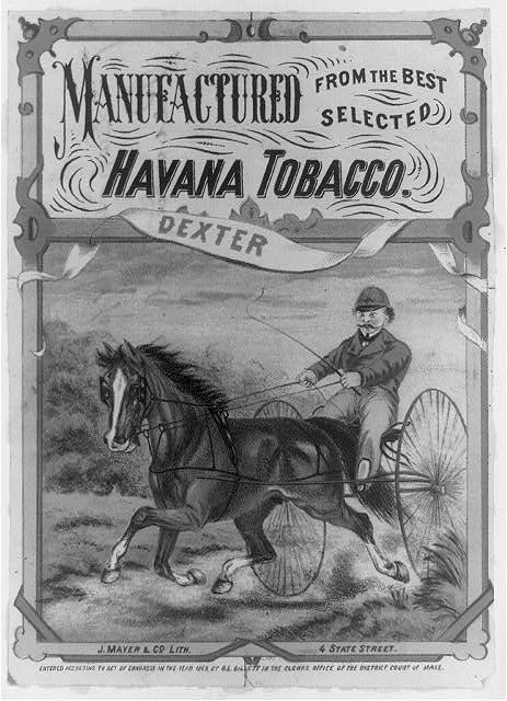 Dexter - manufactured from the best selected Havana tobacco.