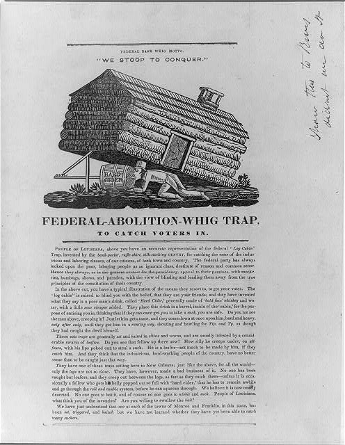 Federal-Abolition-Whig trap, to catch voters in