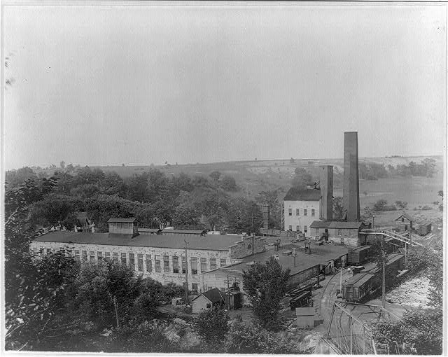 The Malone Paper Co. mill at Malone, N.Y.
