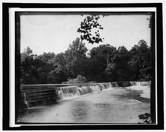 [Canal dam, Lexington, Va.]