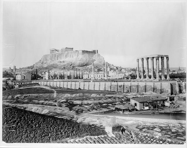 [Greece - Athens - The Parthenon - far view, from southeast]