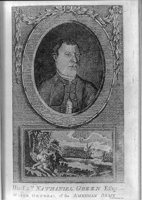 His excy. Nathaniel Green, Esq., major general of the American Army