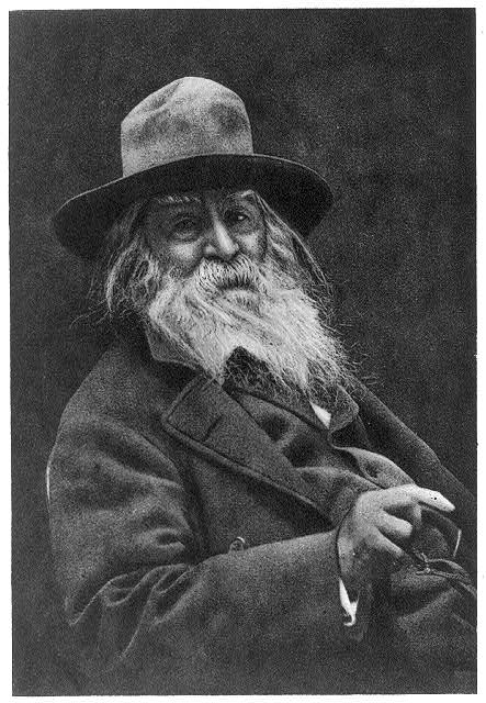 [Walt Whitman, 1819-1892, head-and-shoulders portrait, facing right]