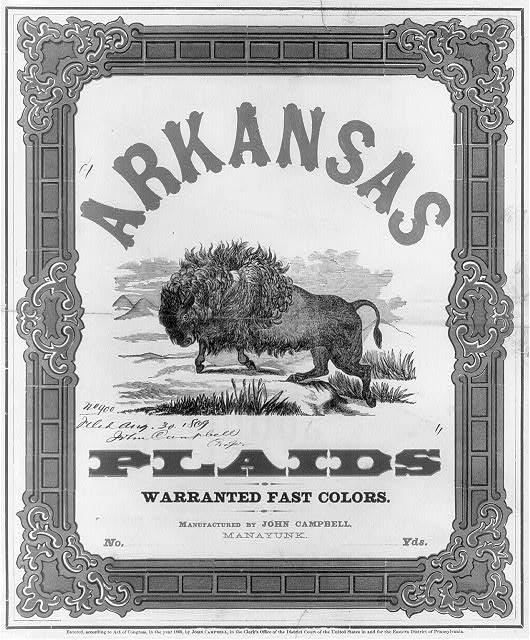 Arkansas plaids