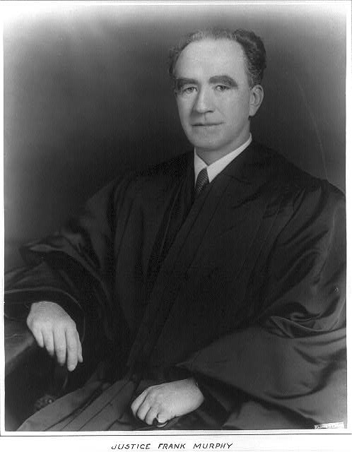 Frank Murphy, 1890-1949