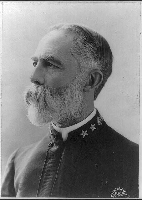 [Admiral William T. Sampson, bust portrait, left profile]