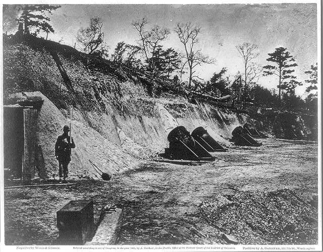 Battery no. 4, near Yorktown, Virginia