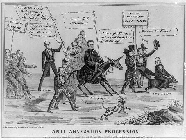 Anti-Annexation Procession