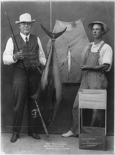 """Capt. Farnsworth's Kite Tuna Catcher, Inv. 1906"