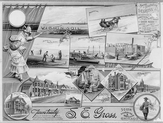 Scenes illustrating S.E. Gross' enterprises in [...]g ...