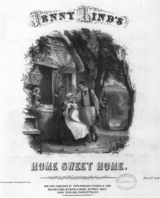 Jenny Lind's Home Sweet Home