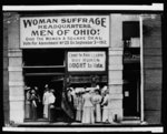 Woman suffrage headquarters ... Cleveland
