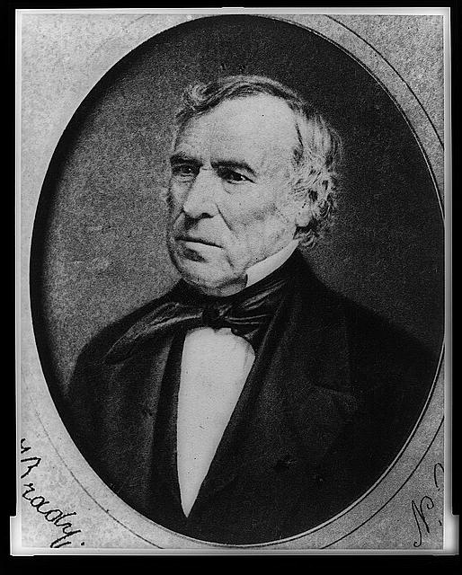 [Zachary Taylor, head-and-shoulders portrait, facing left]