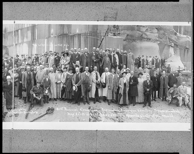 [31st Annual Convention - Association of American Cemetery Superintendents, Aug. 28-31, 1917, at Barre, Vt., The Granite Center of the World]