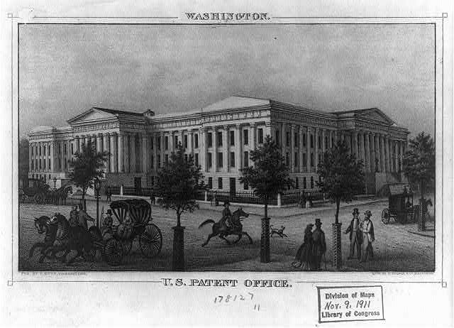 Washington. U.S. Patent Office