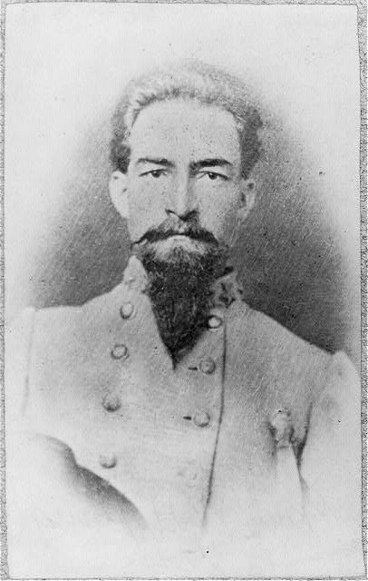 [William Hugh Young, 1838-1901, head and shoulders portrait, facing slightly right. Colonel, 9th Tex. Infantry]