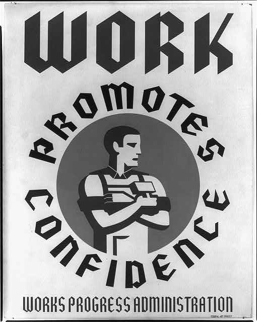 Work promotes confidence